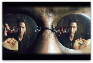 Matrix blue pill red pill