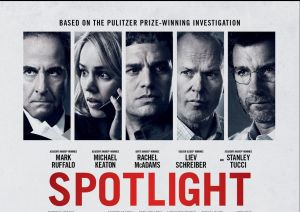 "The movie ""Spotlight"""