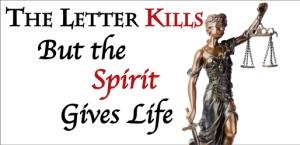 Letter versus Spirit