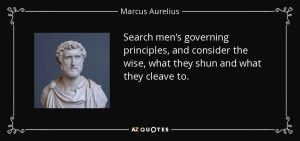 Governing Principle Marcus Aurelius